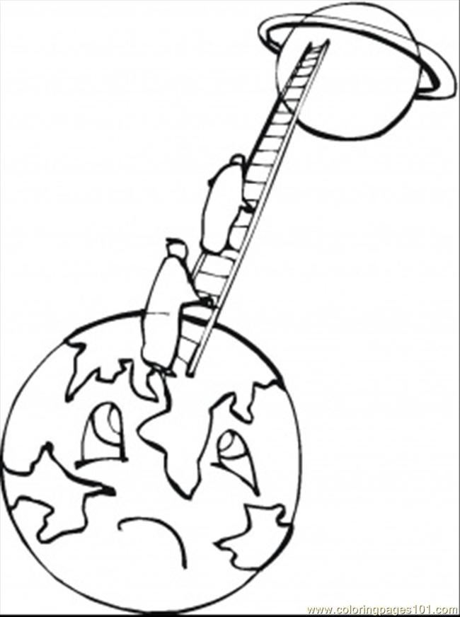 technology coloring pages - printable coloring page climb to the moon technology