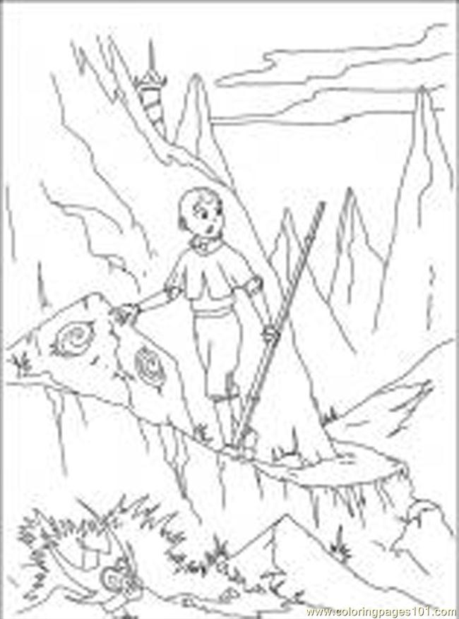 Toph coloring pages for Avatar the last airbender coloring pages toph