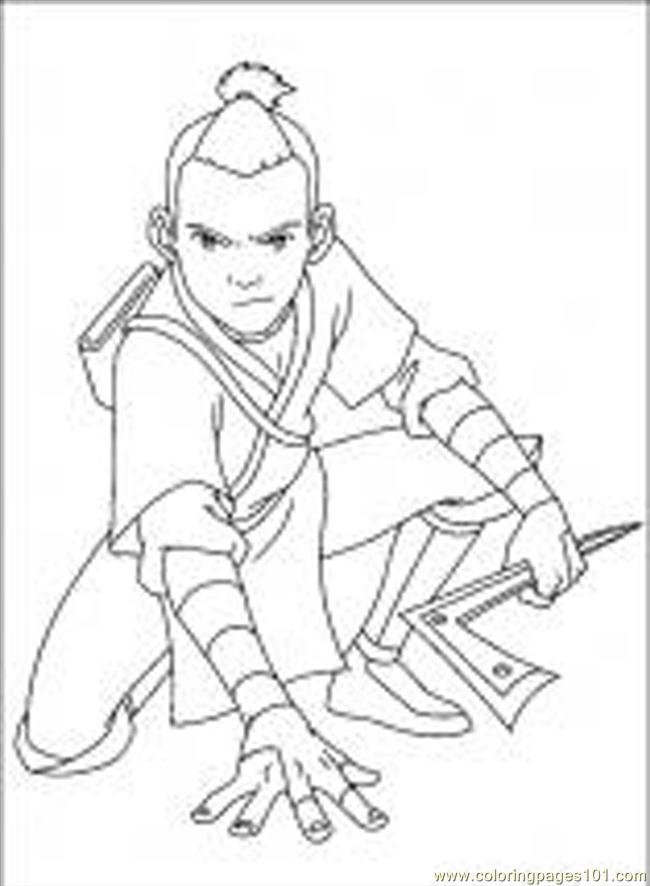 Coloring Pages Avatar 48 M Cartoons