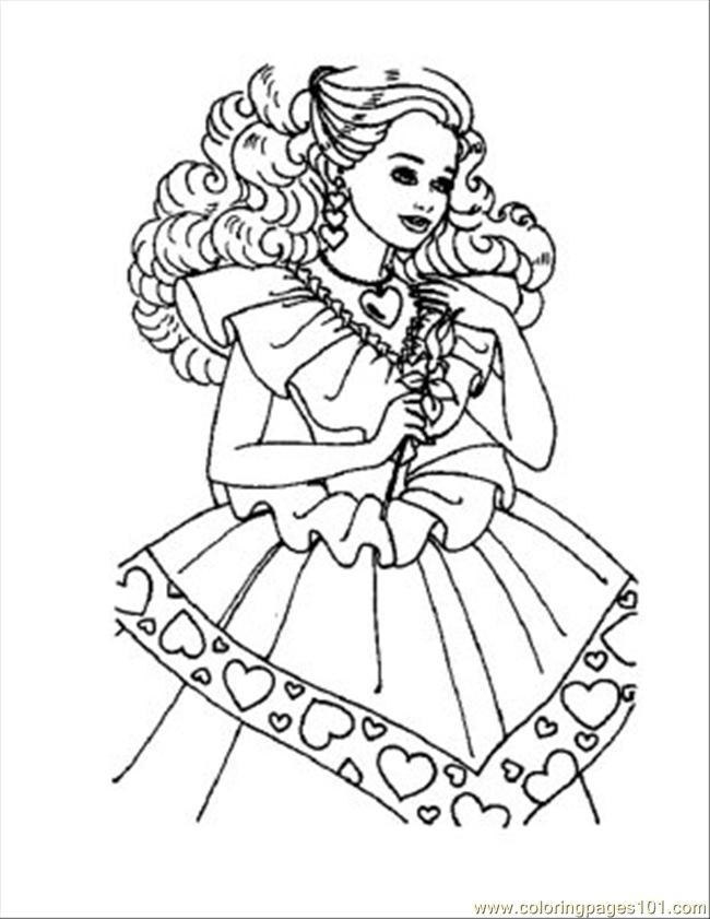 Coloring Pages Barbie Rockstar : Rock star barbie coloring pages