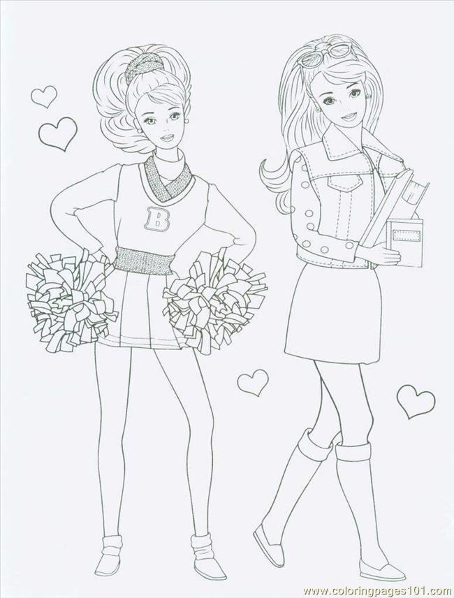 Barbie Coloring Sheets Printables