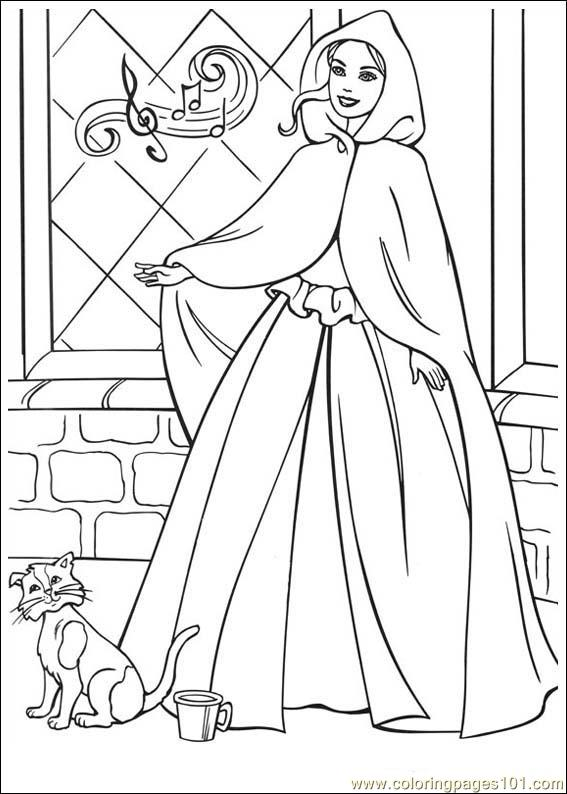 Coloring pages barbie pauper cartoons barbie free for Barbie princess and the pauper coloring pages