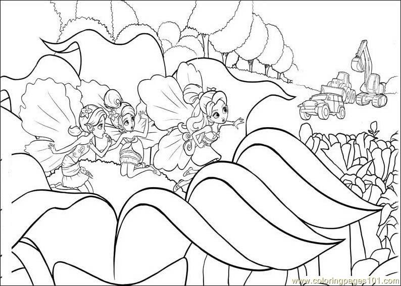 barbie coloring pages full size - photo#19