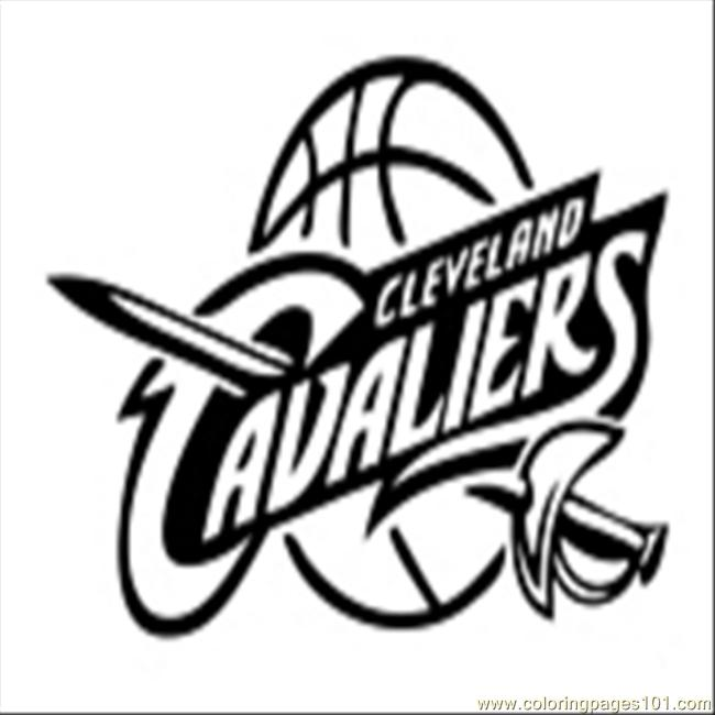 Image Result For Cavs Logo Coloring Page