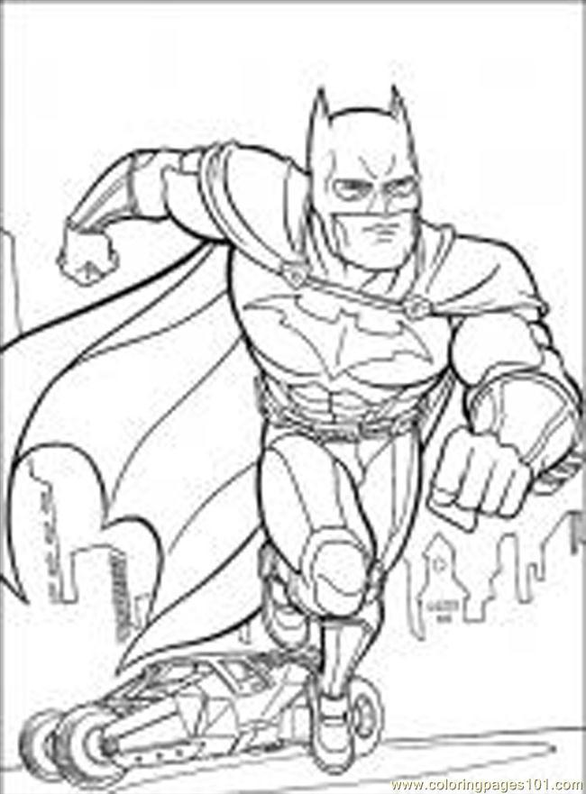 batman coloring pages online - photo#6