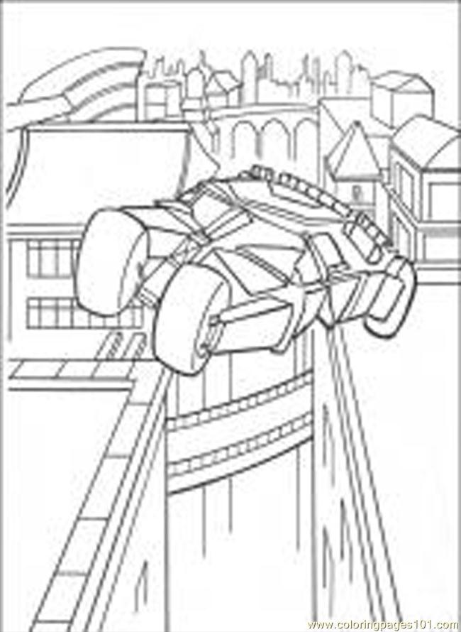 ... Pages Batman (Cartoons > Batman) - free printable coloring page online
