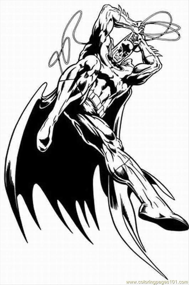 coloring pages batman 1 - photo#33