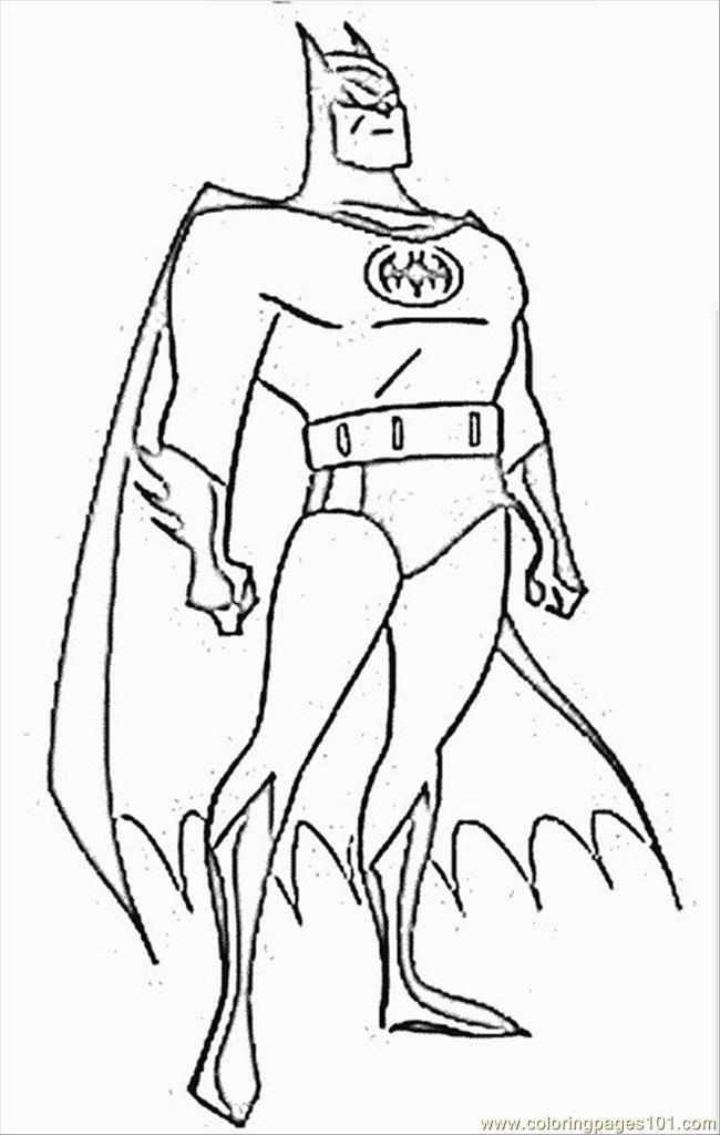 Coloring pages coloring batman cartoons batman free for Batman coloring pages to print free