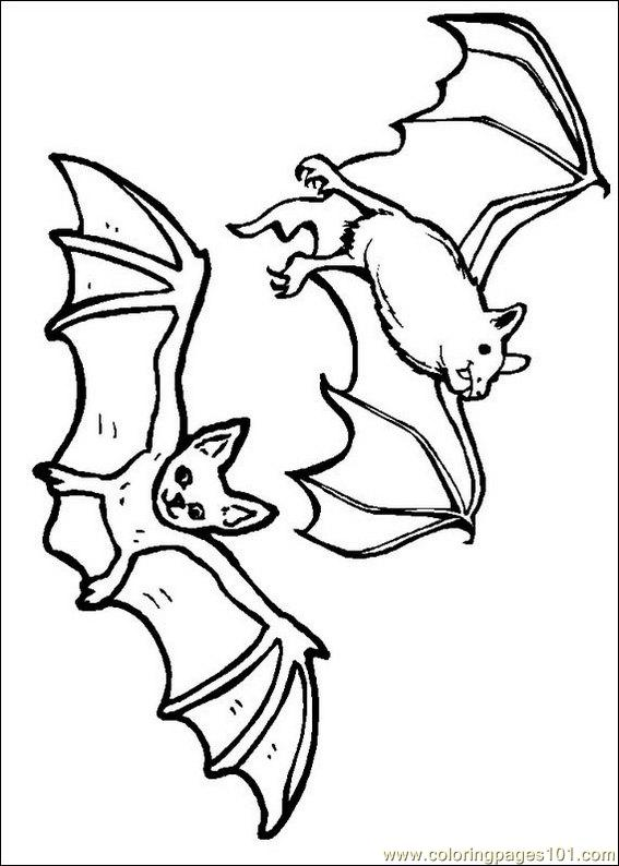 Coloring Pages Bats Coloring Pages