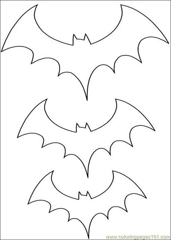coloring pages of a bat - photo#26