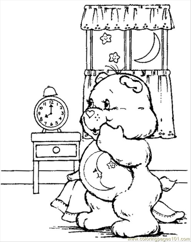 free coloring pages bedtime - photo#23