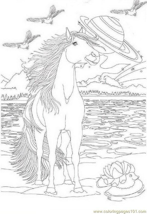 Bella Sara 03 coloring page Free Printable Coloring Pages