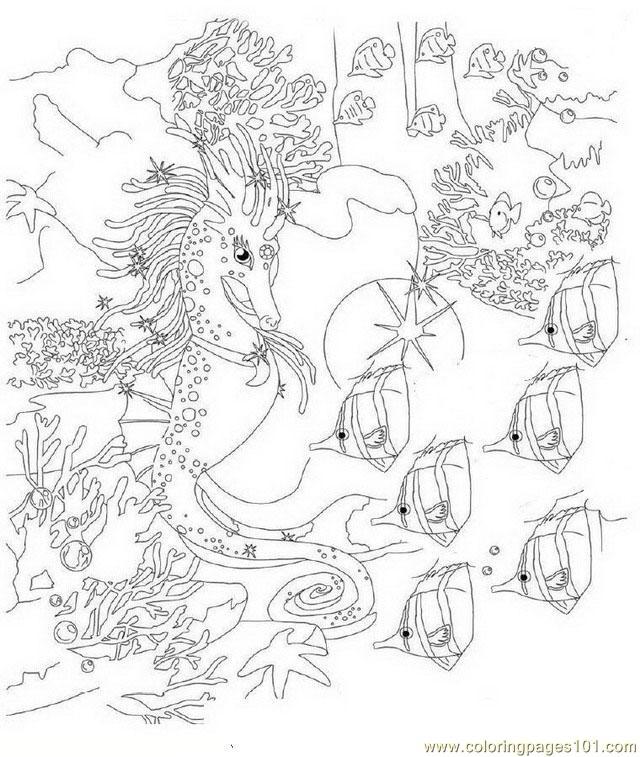 Bella Sara 15 Coloring Page