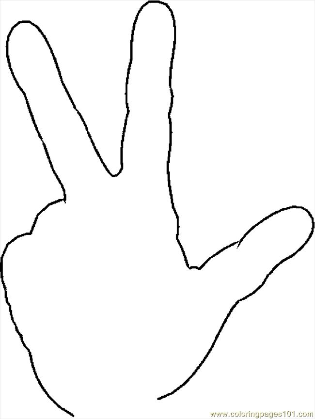5 finger prayer coloring pages coloring pages