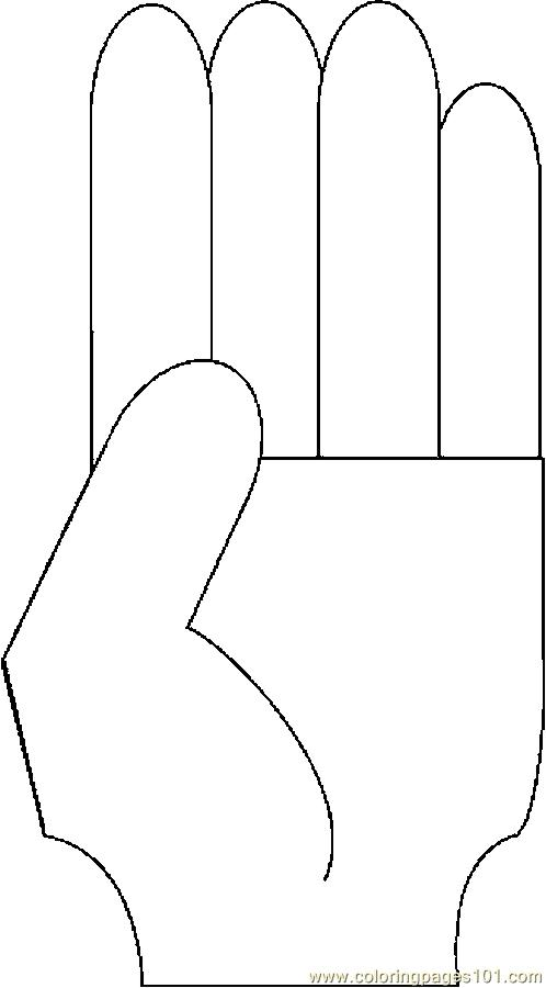 coloring pages counting fingers - photo#2