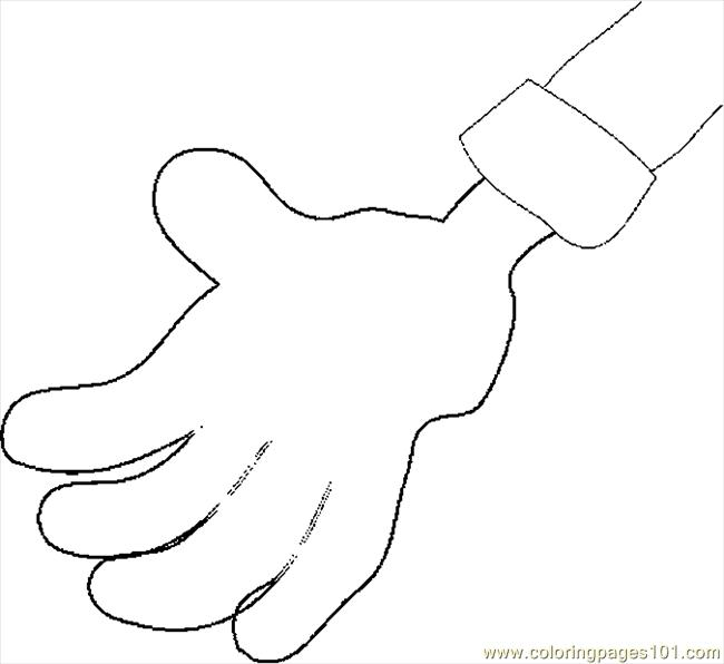 hands coloring pages - photo#29