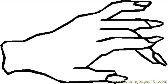 Right Hand Left Keyboard Coloring Page Printable