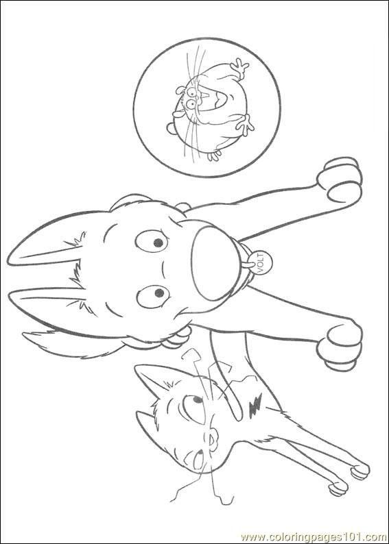 Bolt penny coloring pages