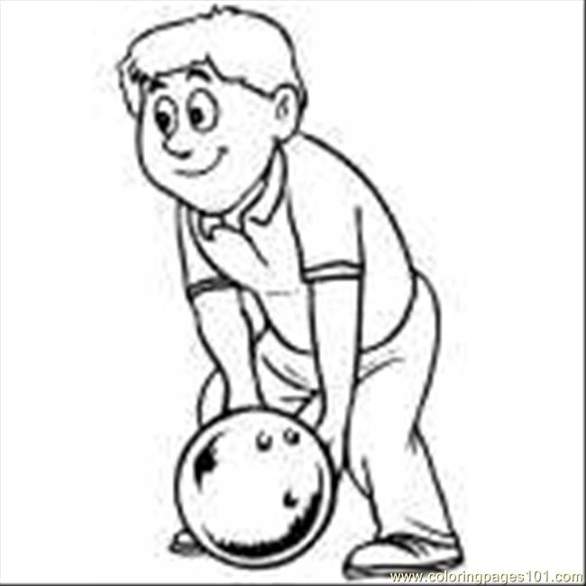 bowling pin coloring pages - photo#35
