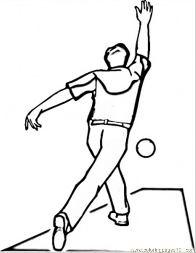 bowling pin coloring pages - photo#21