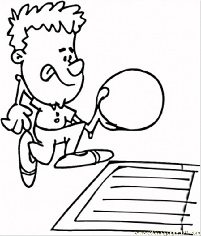 bowling pin coloring pages - photo#33
