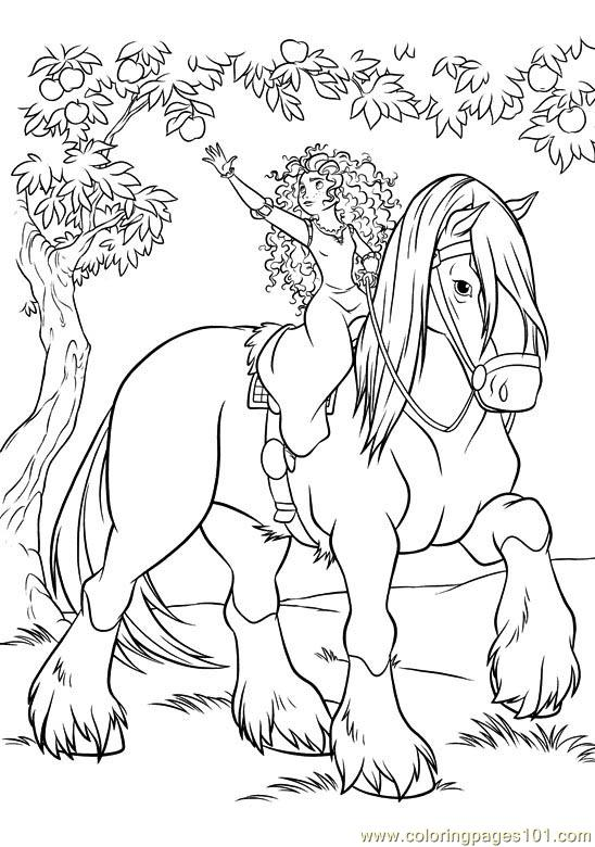 Coloring Pages Brave 12 Cartoons
