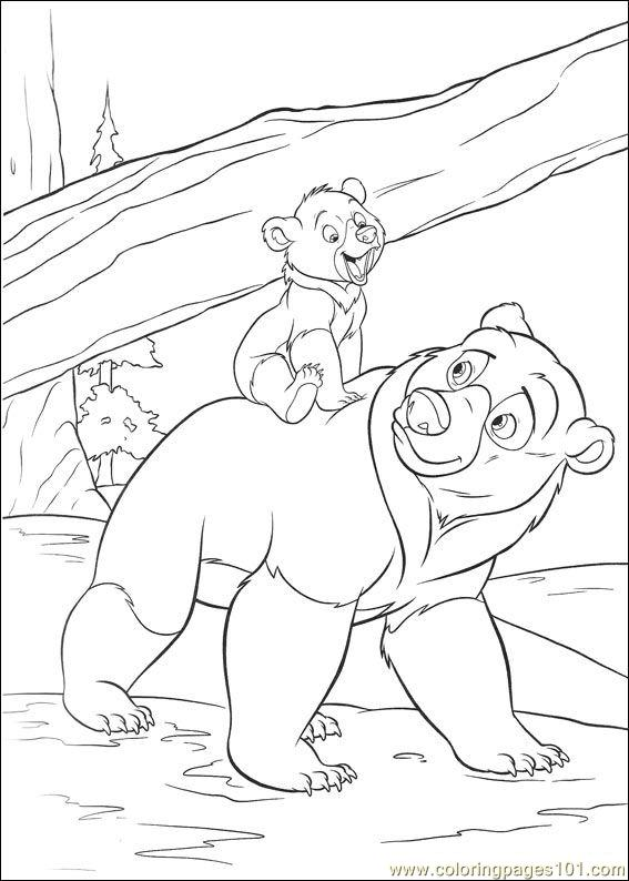 Coloring Pages Brother Bear 2 20 Cartoons gt Brother Bear