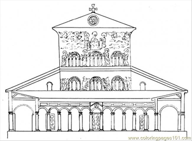 coloring pages of capitol building - photo#29