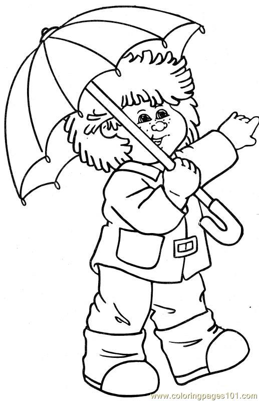 cabbage patch coloring pages - photo#44