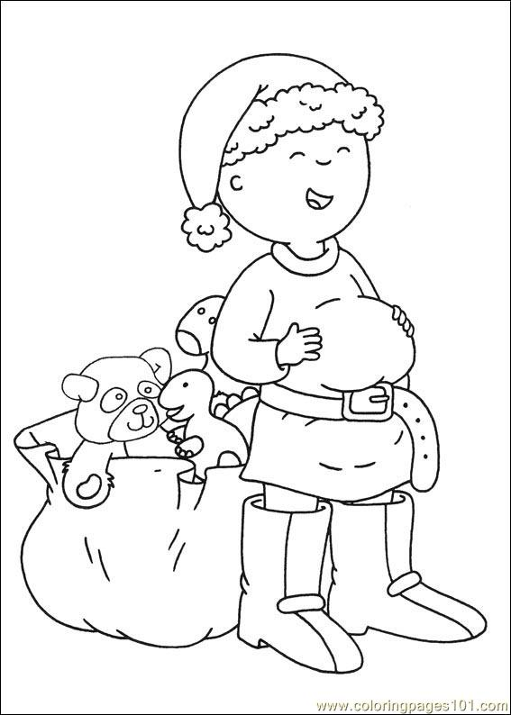 Coloring Pages Caillou Coloring