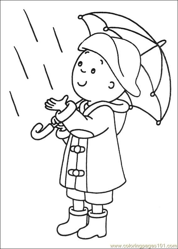 Caillou And Sarah Coloring Pages Coloring Pages