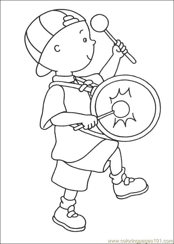 coloring pages caillou coloring pages 035  cartoons  gt  caillou  free printable coloring page online Strawberry Shortcake Coloring Pages  Caillou Coloring Pages Online