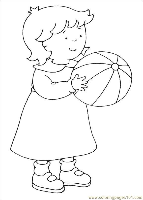 Coloring Pages Caillou Coloring Pages 037 Cartoons