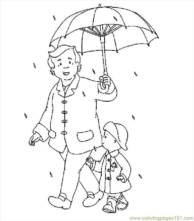 Coloring Pages Caillou008 Cartoons Gt Caillou