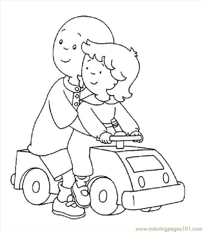 Coloring Pages Caillou012 Cartoons Gt Caillou