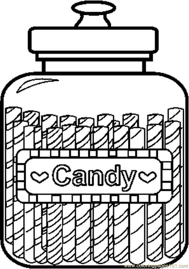 candy coloring pages and fruits - photo#11