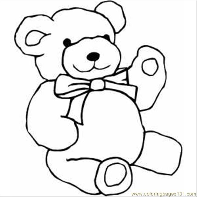 Tatty Teddy Bear Coloring Pages