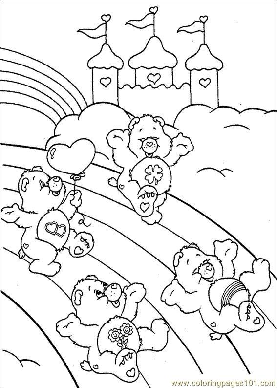funshine cear coloring pages - photo#32