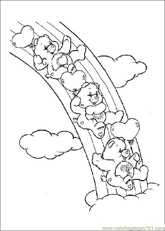 grumpy care bears coloring pages - photo#22
