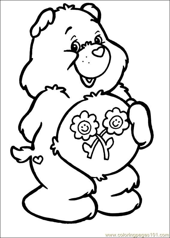 the care bears coloring pages - photo#8