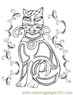 free printable celtic coloring pages - photo#44