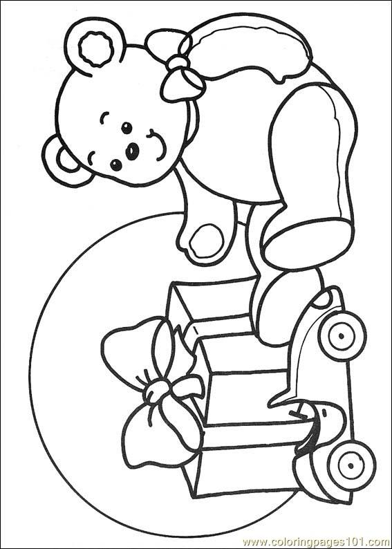 cartoon christmas coloring pages - photo#41