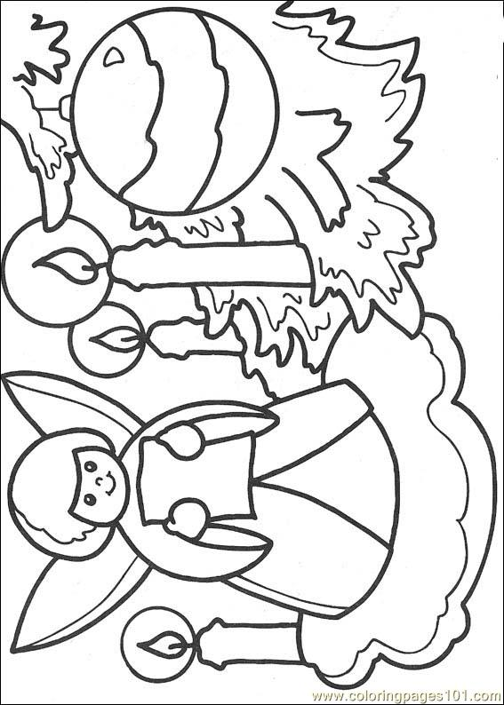 cartoon christmas coloring pages - photo#28