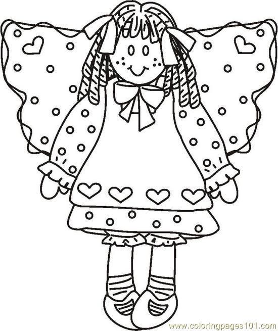 rag dolls printable coloring pages - photo#30