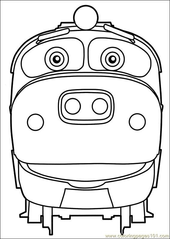 Coloring pages chuggington 05 cartoons chuggington for Chuggington coloring pages