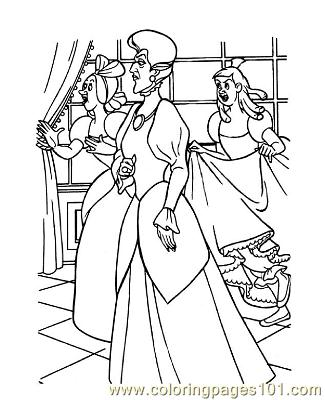 Cinderella Coloring Pages Pdf New Calendar Template Site