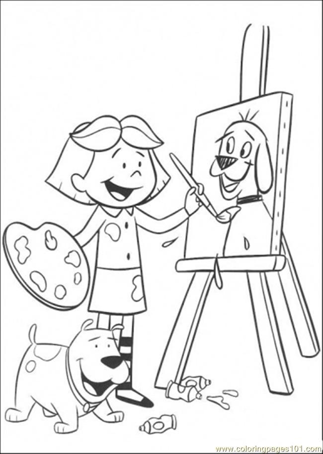 Coloring Pages Do Painting Cartoons Gt Clifford Free Painting Sheets