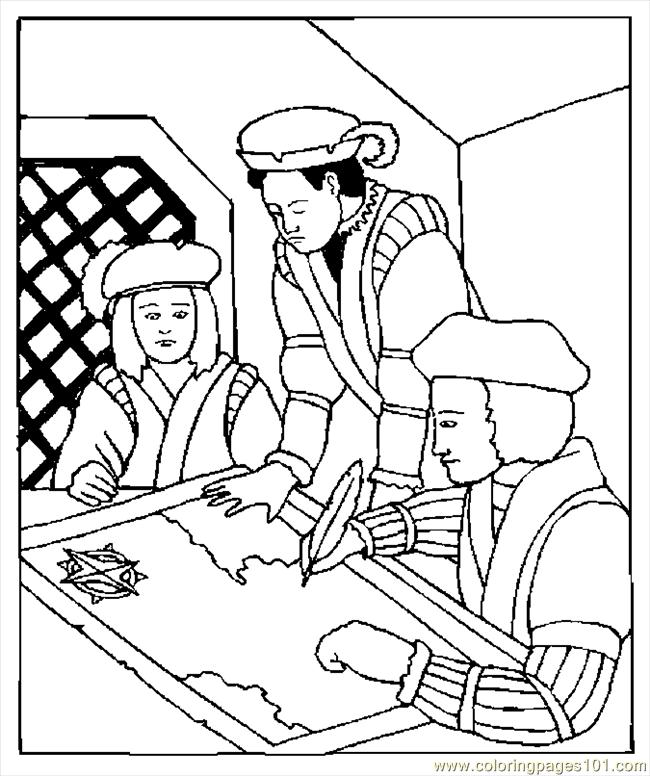 free columbus day coloring pages - photo#19