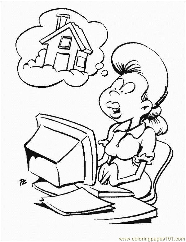 technology coloring pages - photo#14