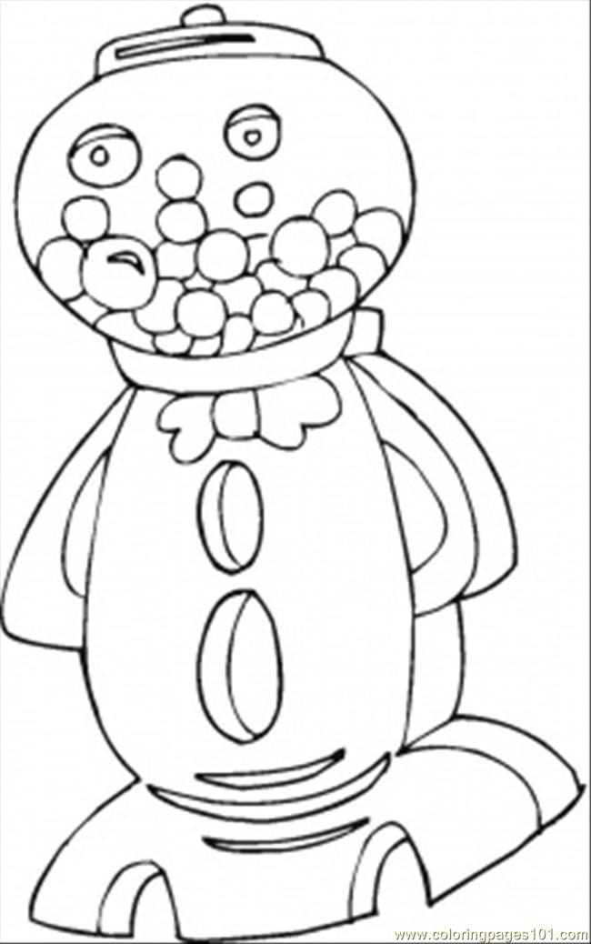 sucker coloring pages - photo#28